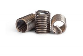 M2.5-0.45x1.5D Wire Thread Inserts (Bag of 10)